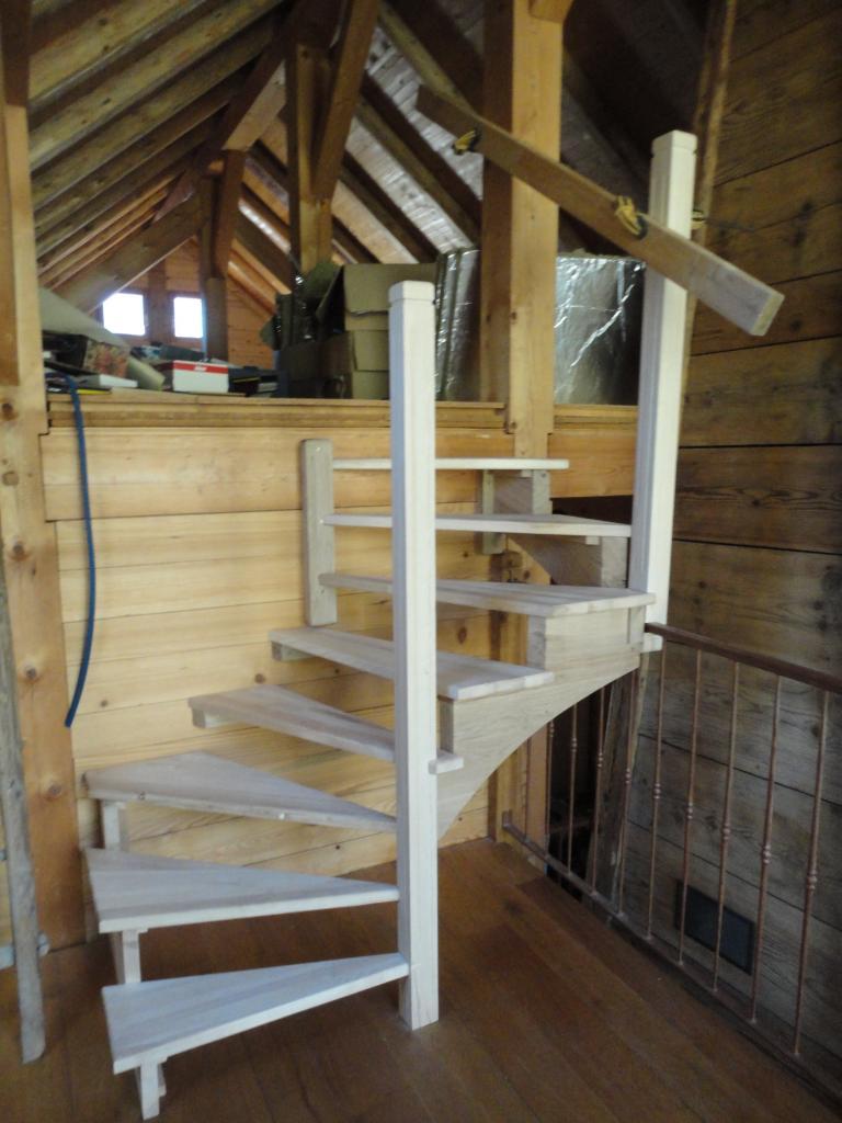 Escalier demi-etage