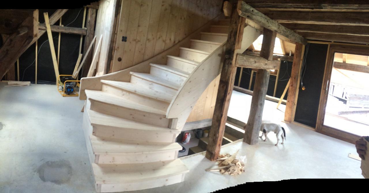 Escalier Sapin (1)