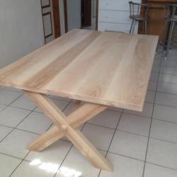 table chataignier