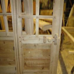 Porte intérieur rustique fermeture bois (1)