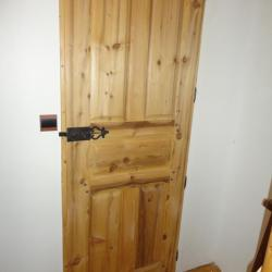 Porte intérieur rustique