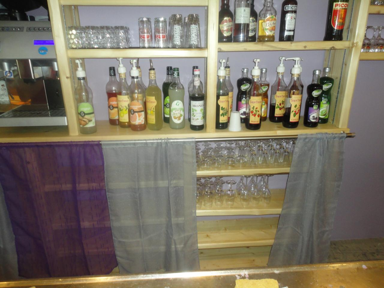 Renovation bar en Sapin (4)