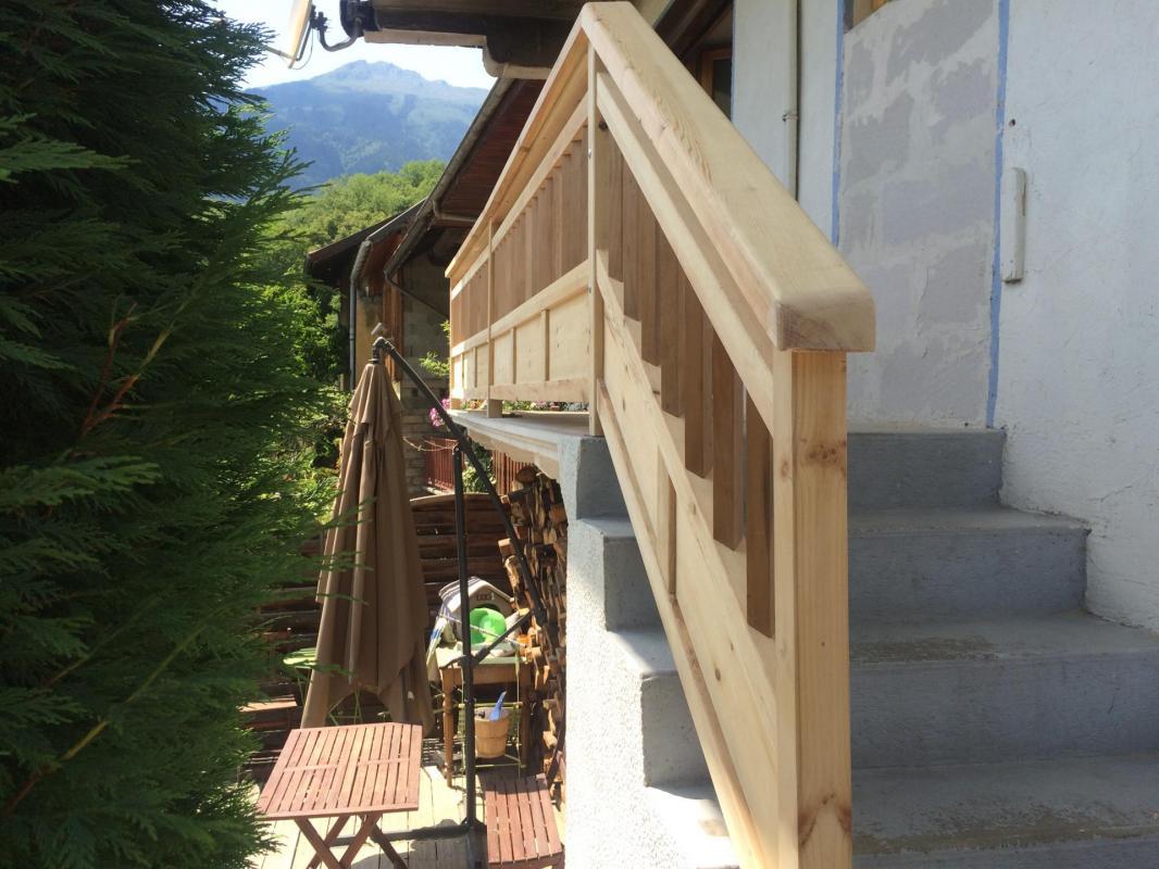 Balcon en pin 2