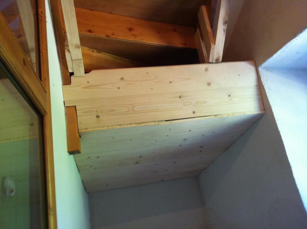 Isolation escalier 2